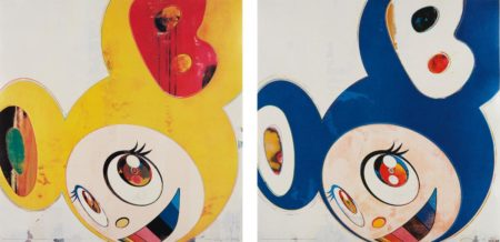 Takashi Murakami-And Then, and then and then and then and then / Yellow Jelly; And Then, and then and then and then and then / Original Blue-2006
