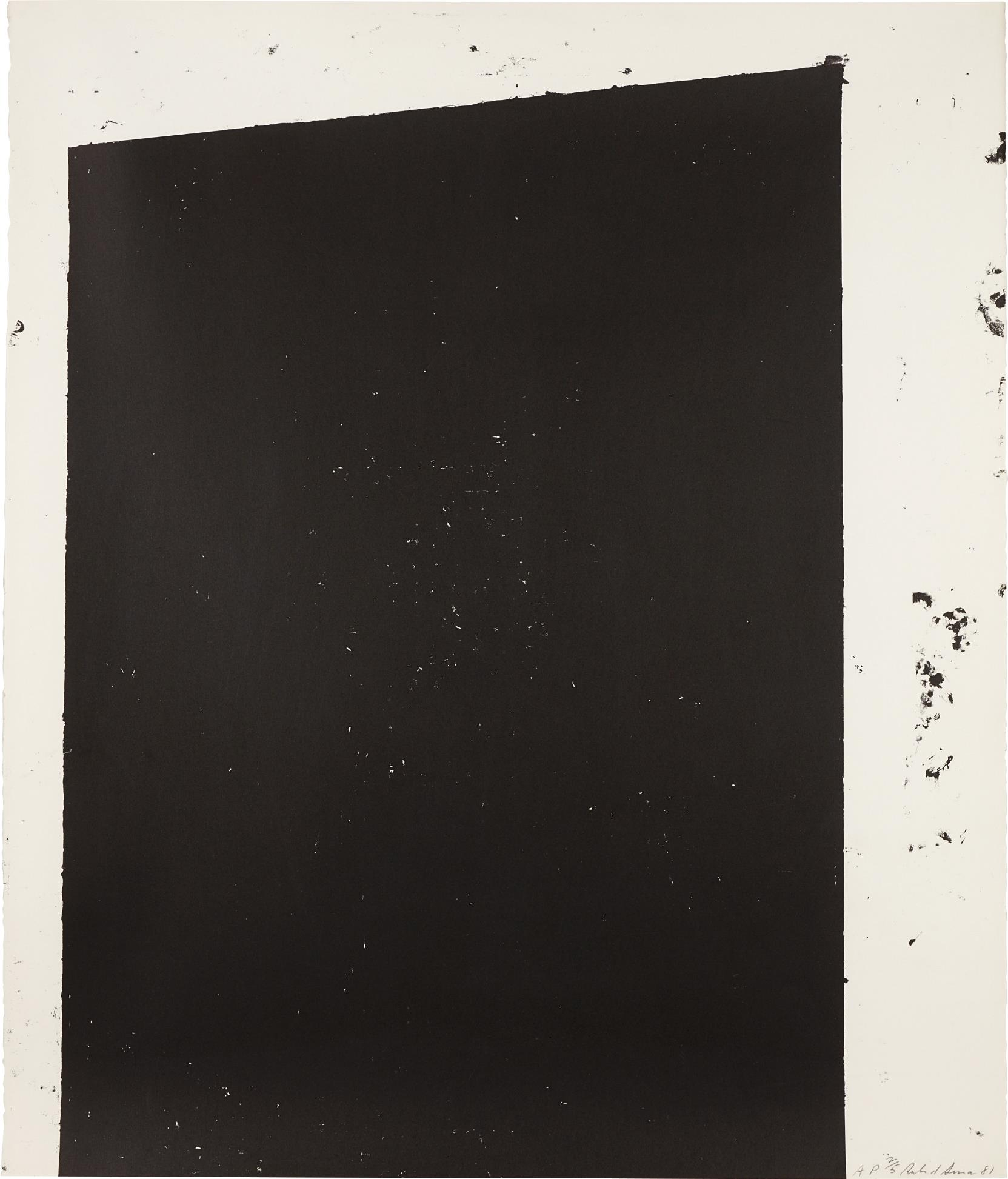 Richard Serra-Malcolm X-1981