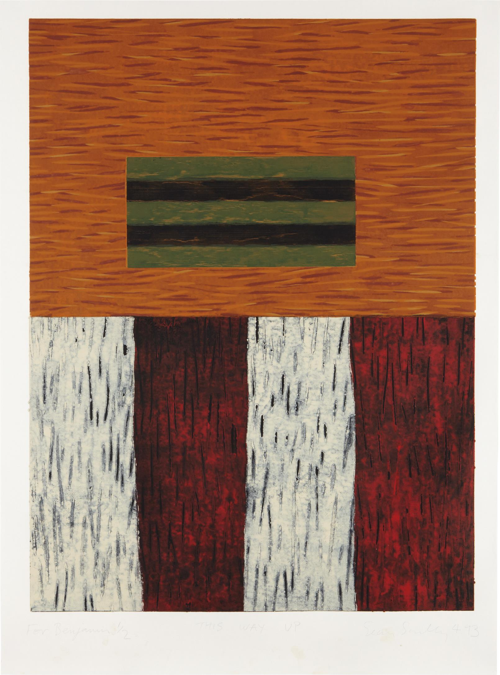 Sean Scully-This Way Up-1993
