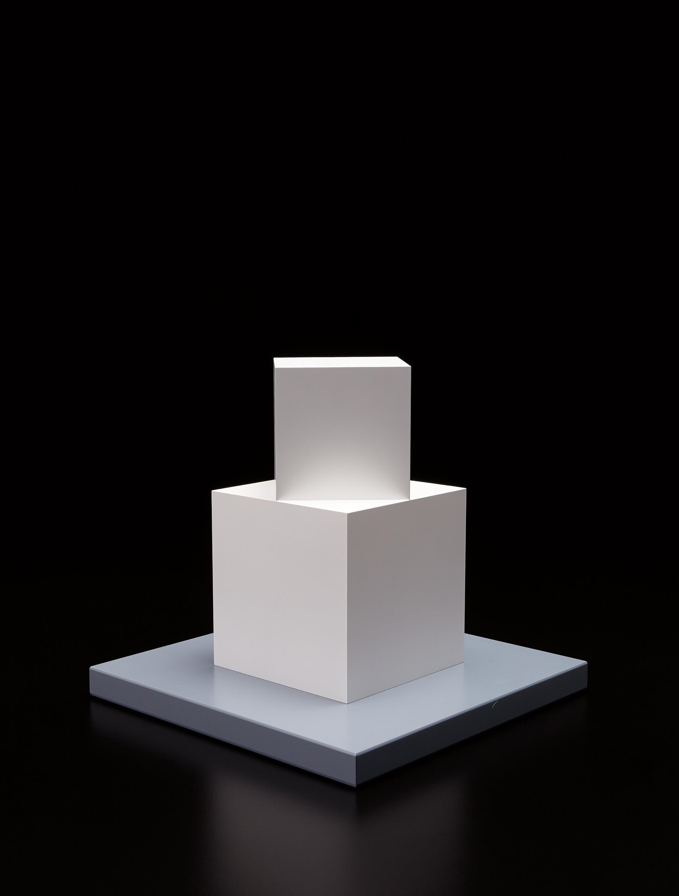 Sol LeWitt-Cube on a Cube-2005