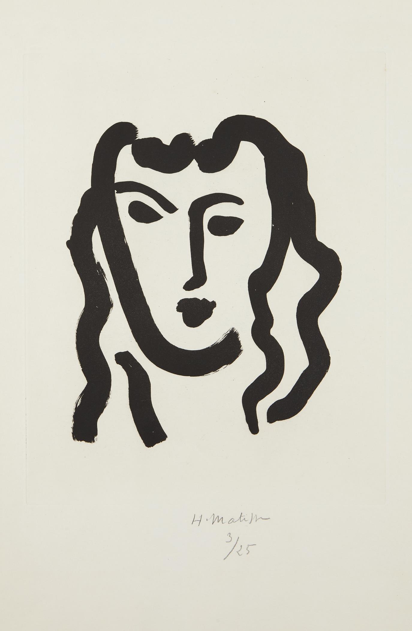 Henri Matisse-Patitcha. Masque-1947