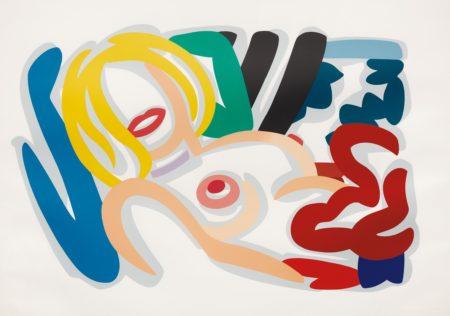 Tom Wesselmann-Big Blonde with Choker-1992