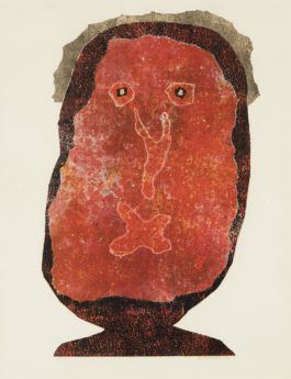 Jean Dubuffet-L'Enfle-chique II (The Inflated Snob II)-1963