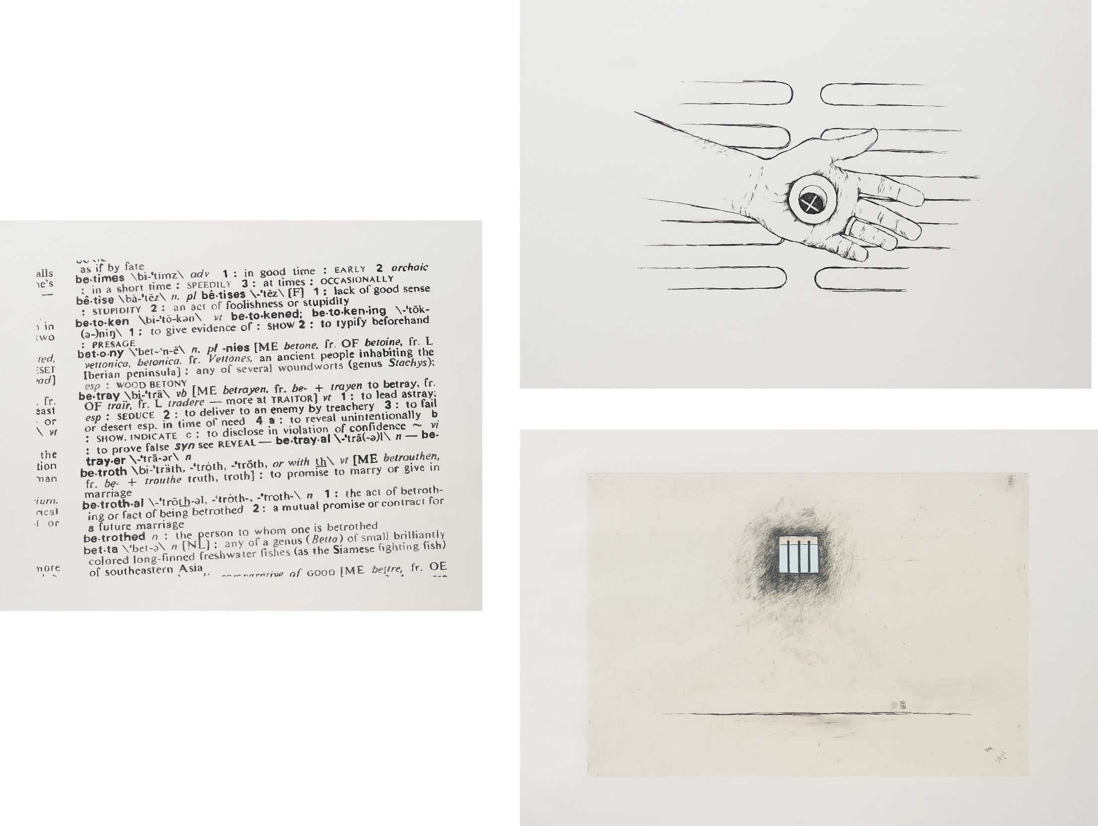 Robert Gober-Three Works; Untitled-2000