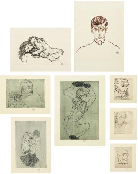 Egon Schiele-Das Graphische Werk von Egon Schiele (1914-18/1922)-1922