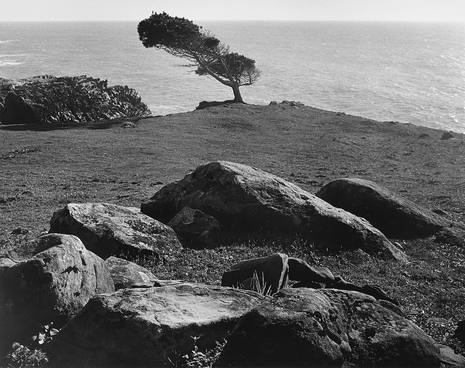 Ansel Adams-At Timber Cove, North Coast, California-1960