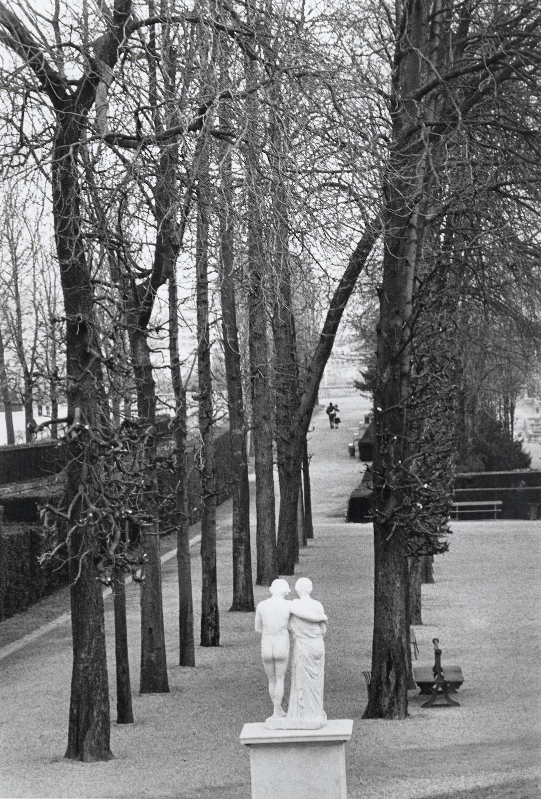 Edouard Boubat-Parc de de Saint-Cloud, Paris-1981