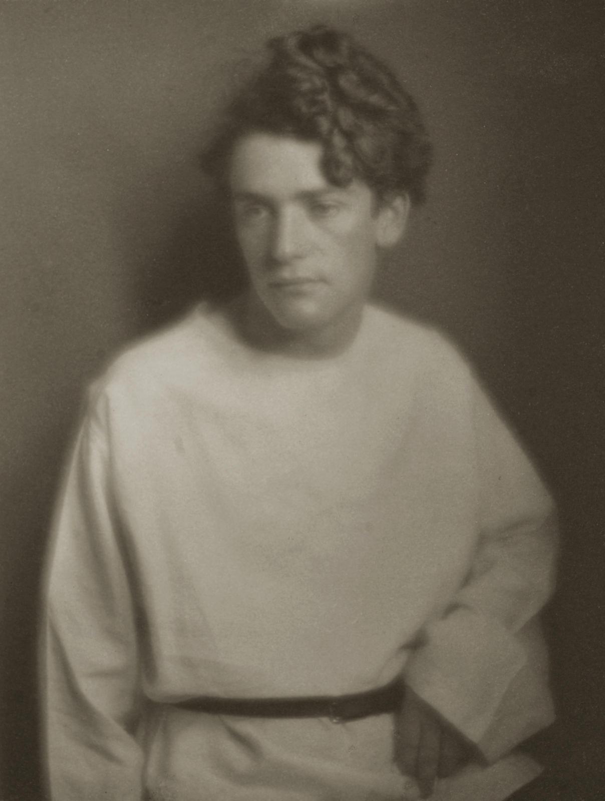 Imogen Cunningham-Portrait of John Butler, Painter-1912