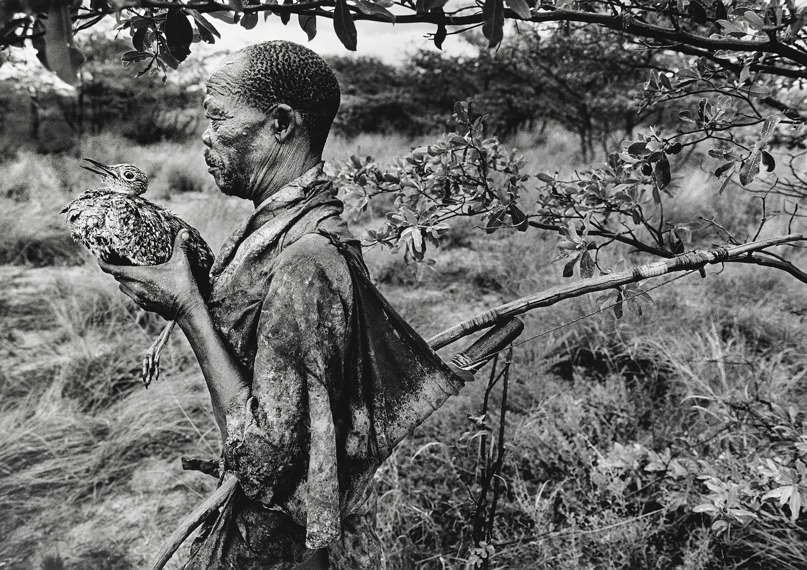 Sebastiao Salgado-Bushmen Botswana, Africa-2008