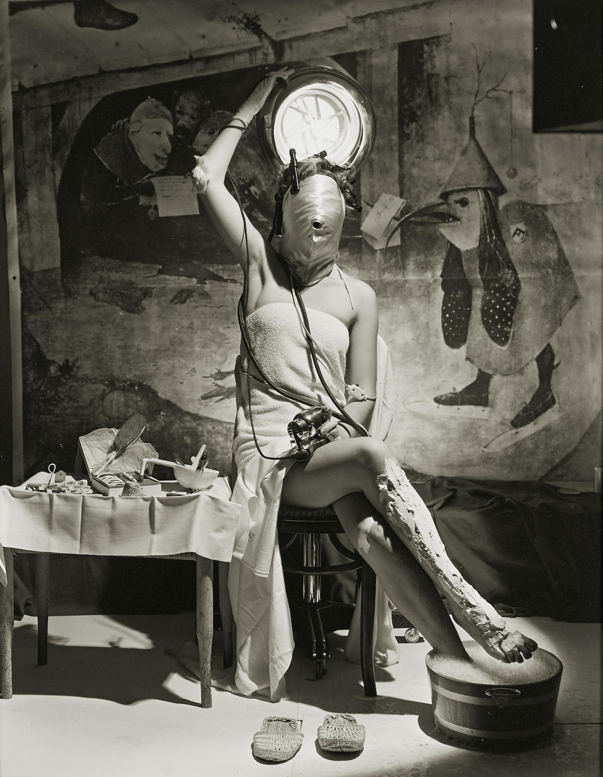 Horst P. Horst-Electric Beauty, Paris-1939