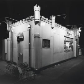 George Tice-White Castle, Route #1, Rahway, New Jersey-1973