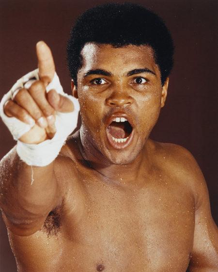 Neil Leifer-Muhammad Ali, Fifth Street Gym, Miami-1970