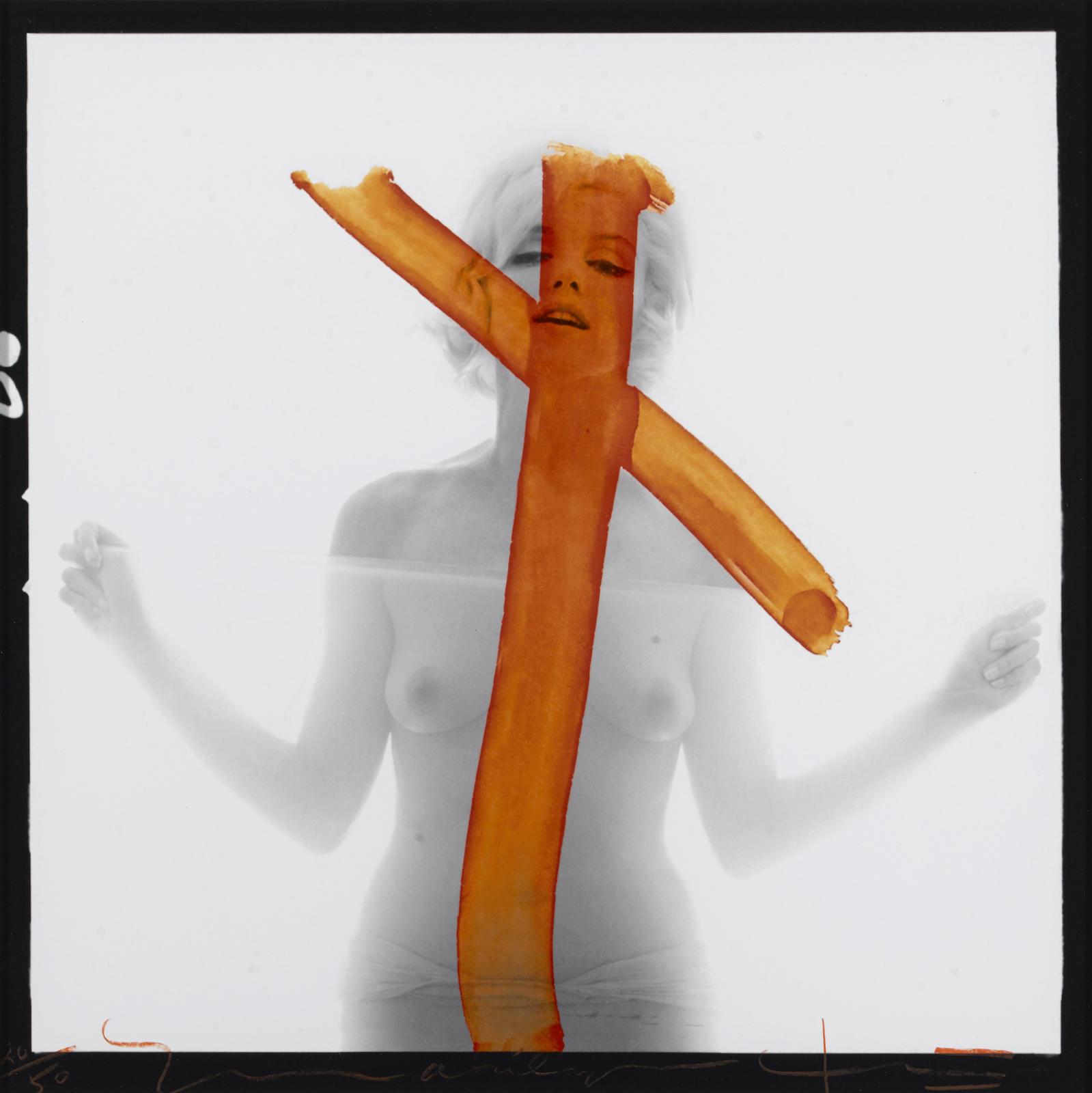 Bert Stern-Marilyn Monroe (Crucifix II)-1962