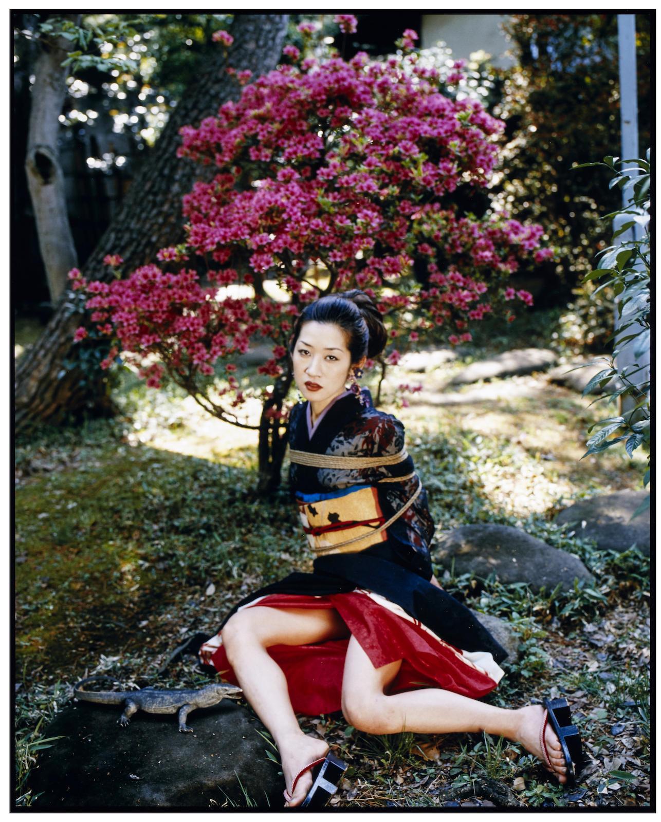 Nobuyoshi Araki-Flower, Yamorinski and Bondaged Woman-2006