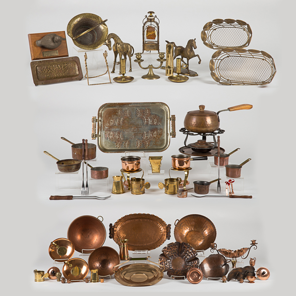 A Miscellaneous Collection of Copper and Brass-