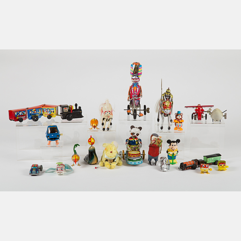 Vintage Tin Wind-Up Toys-