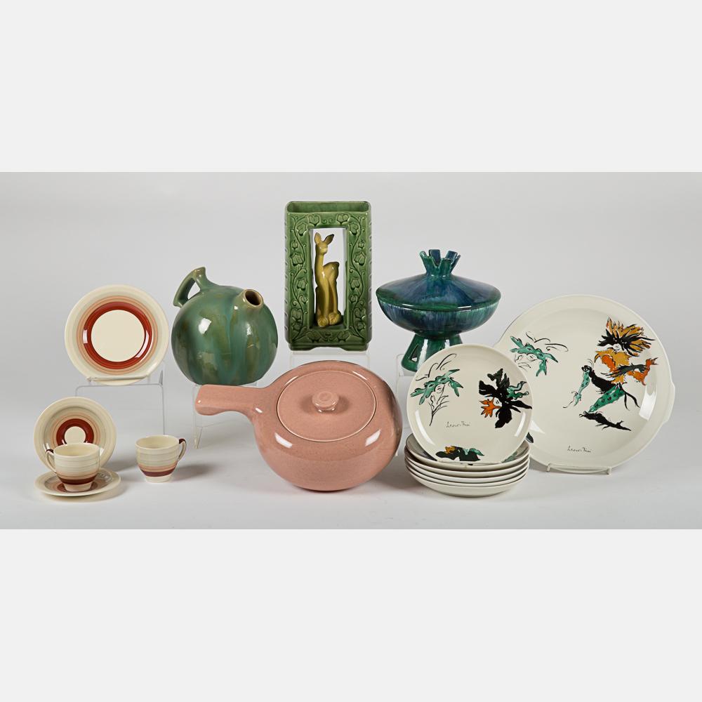 Mid-Century Modern Ceramic Items-