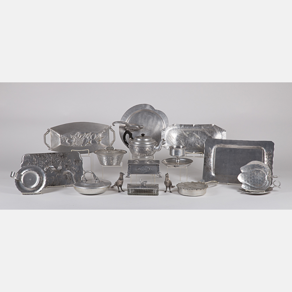 Hammered Pewter Ware-