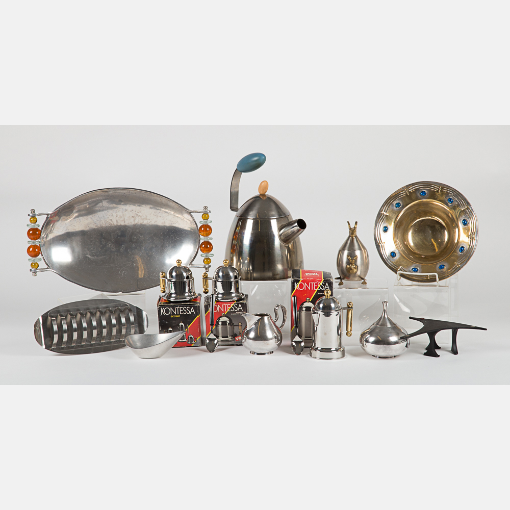 Pewter and Silverplated Items-