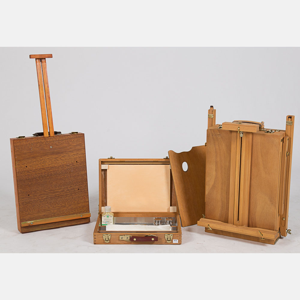 Two Artist Combination Easels-