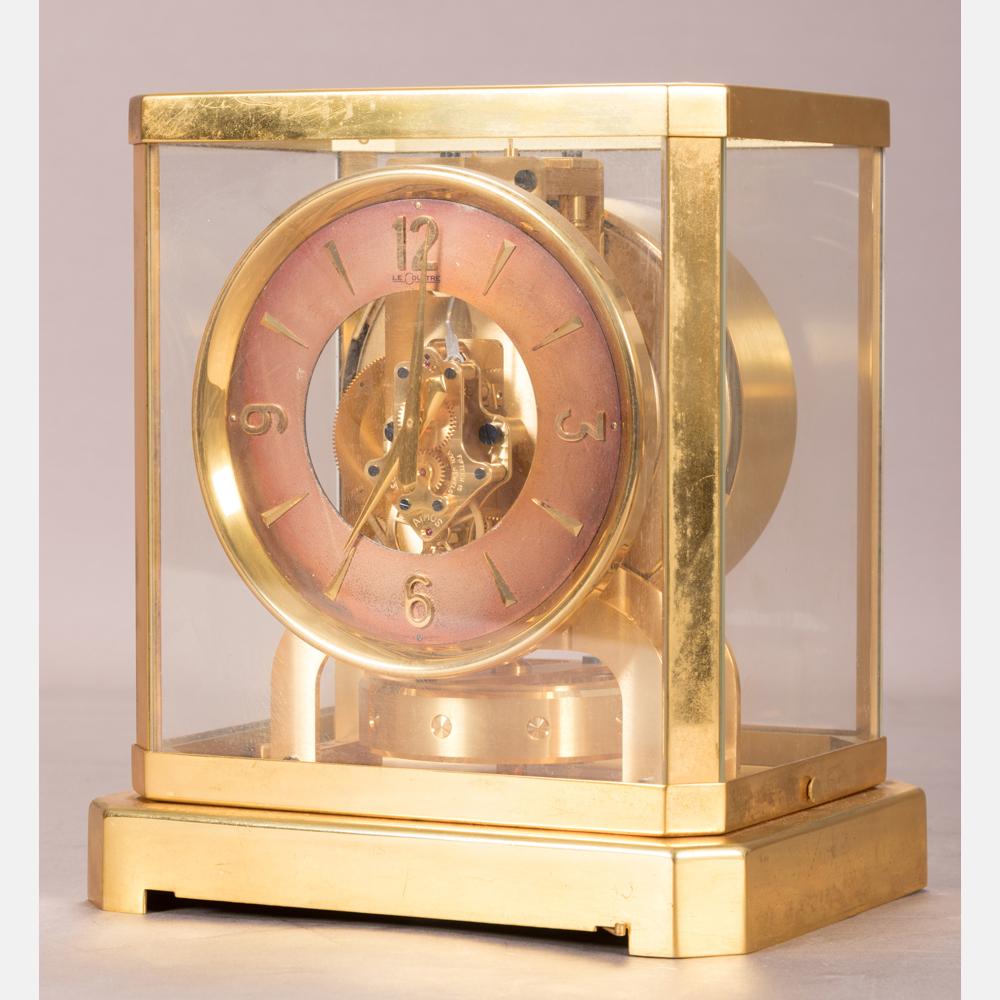 A Jaeger-LeCoultre Atmos Clock-