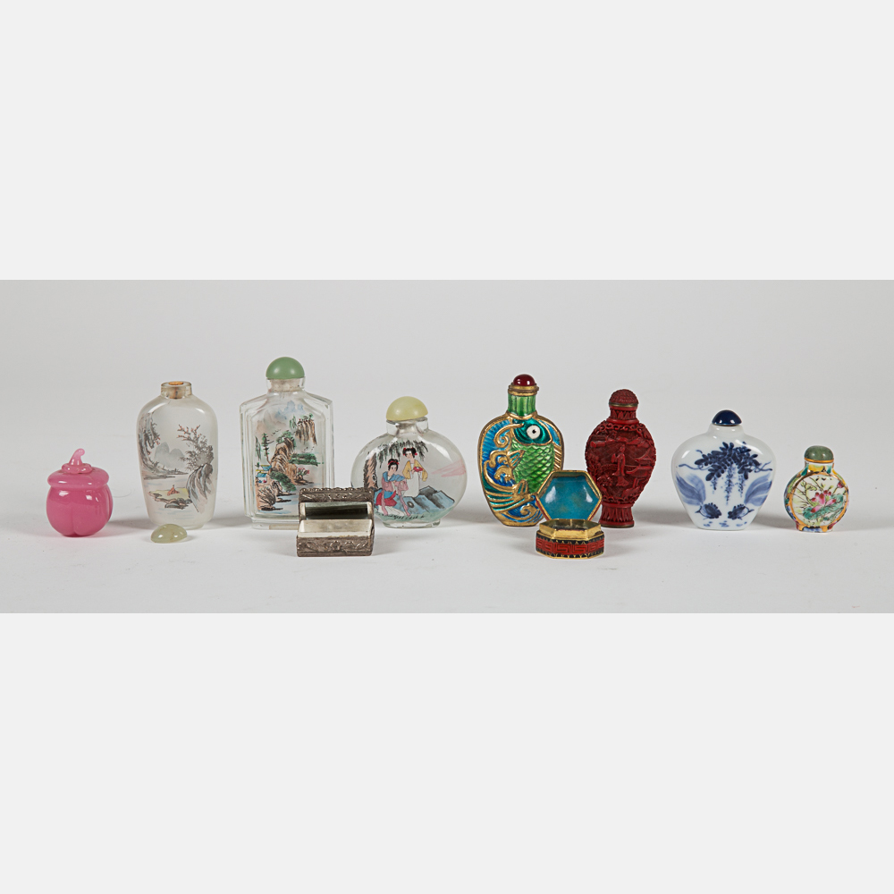 Chinese Snuff Bottles-