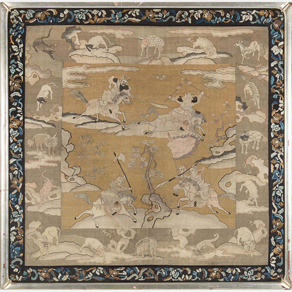 Chinese Silk Kesi-