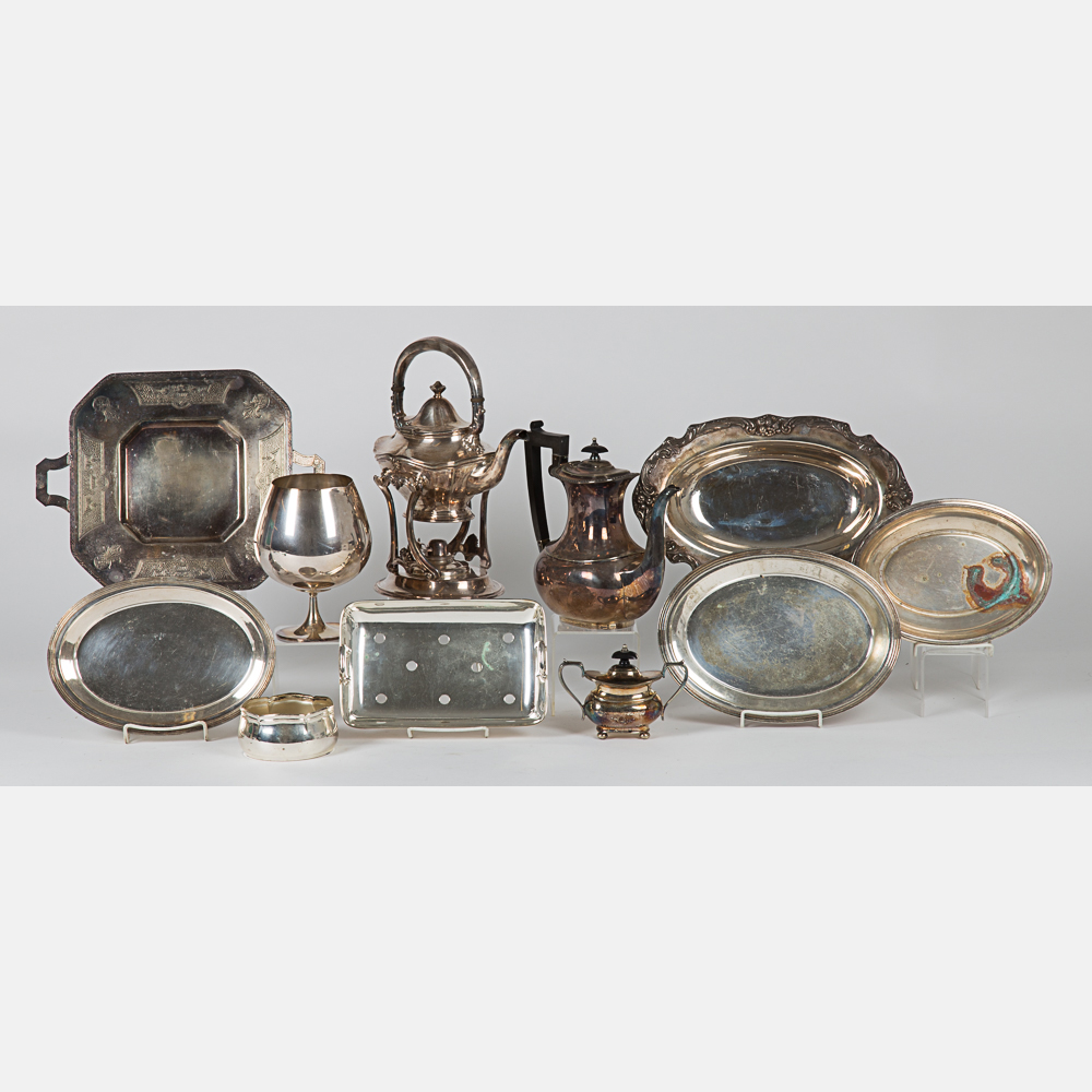Collection of Silver Plated Items-