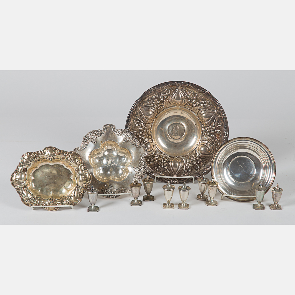American Sterling Silver Items-