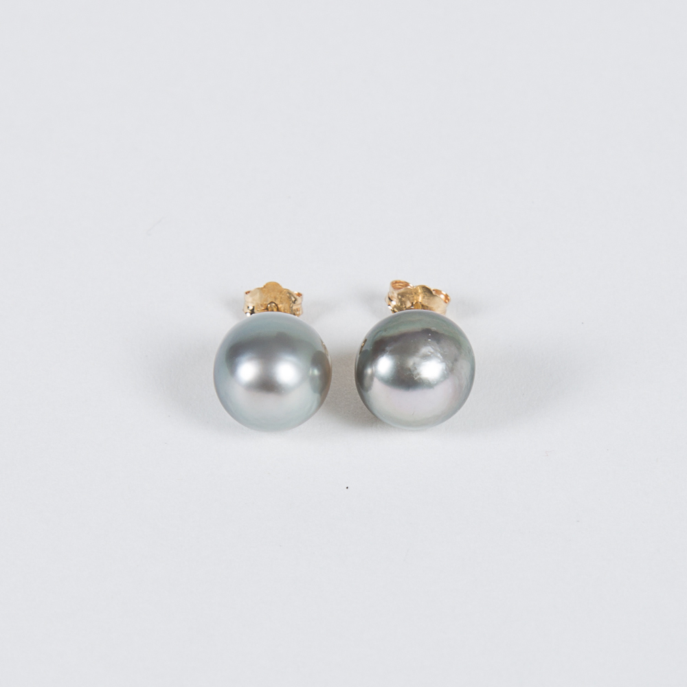 Semi-Baroque Pearl Earrings-