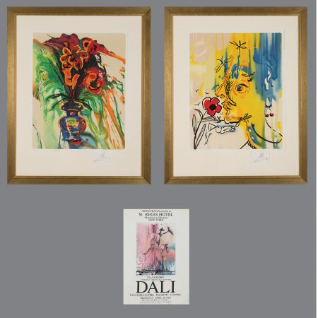 Salvador Dali-Fleurs Surrealist: Gala's Bouquet and The Vanishing Face-