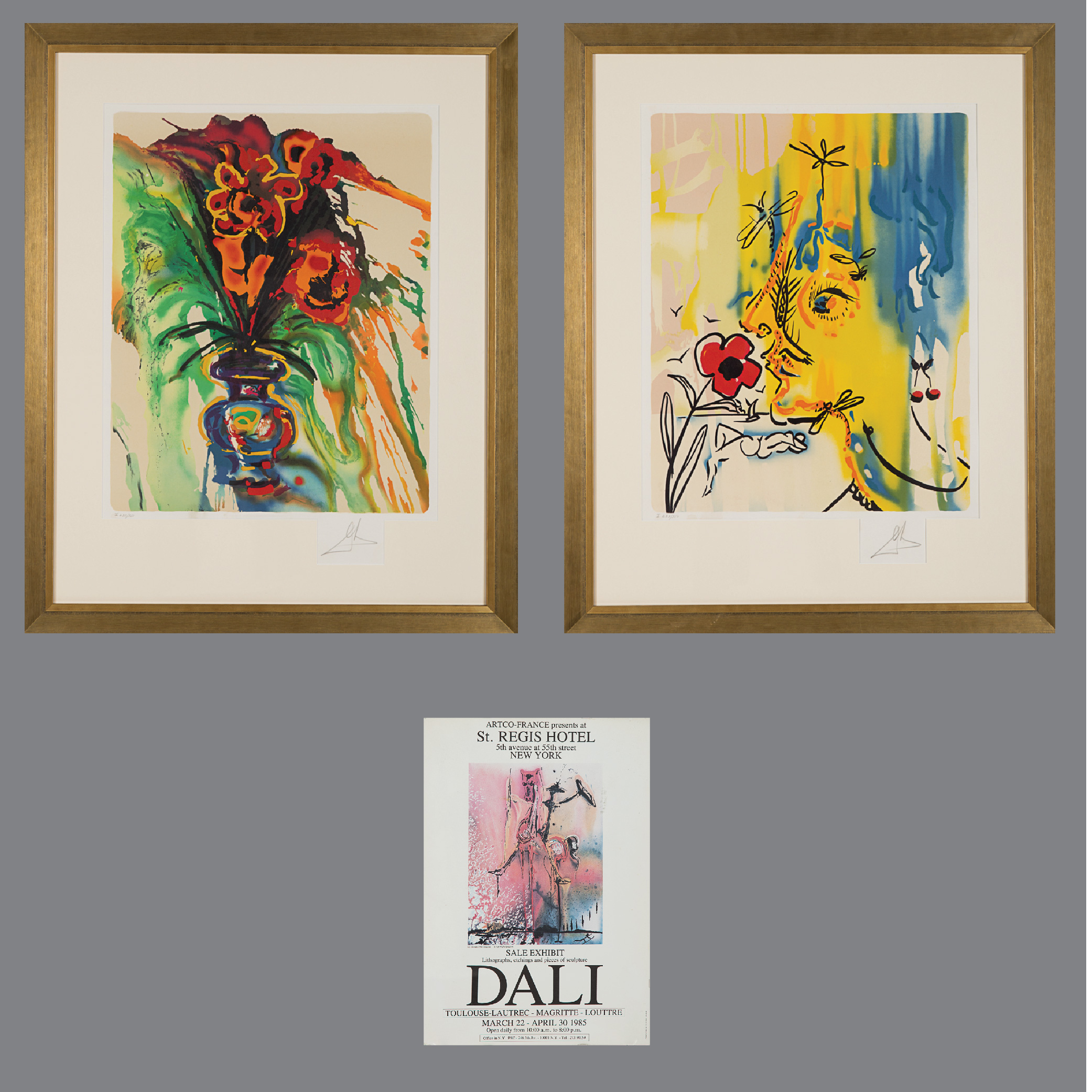 Salvador Dali-Fleurs Surrealist: Gala's Bouquet and The Vanishing Face-