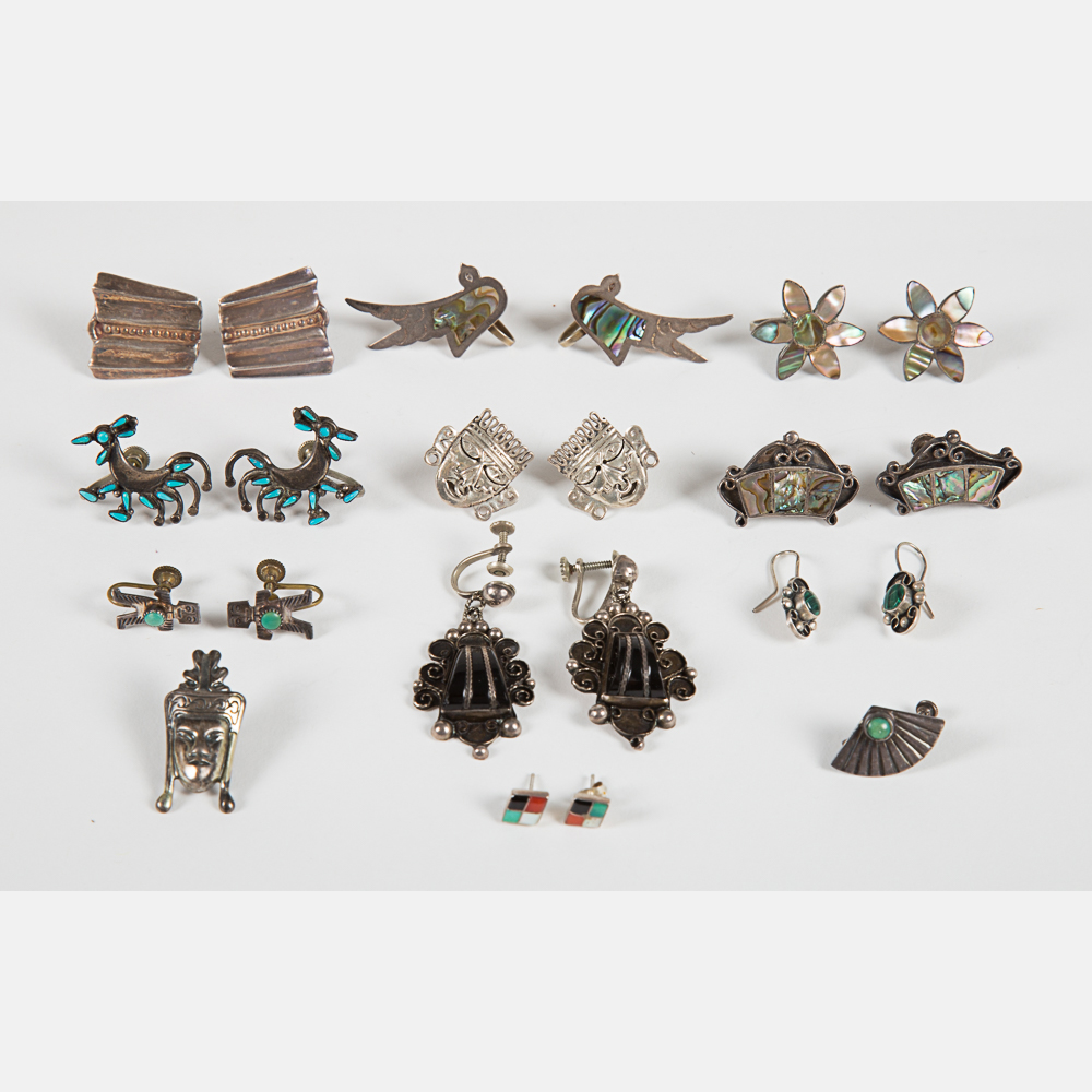 Ten Pairs of Earrings-