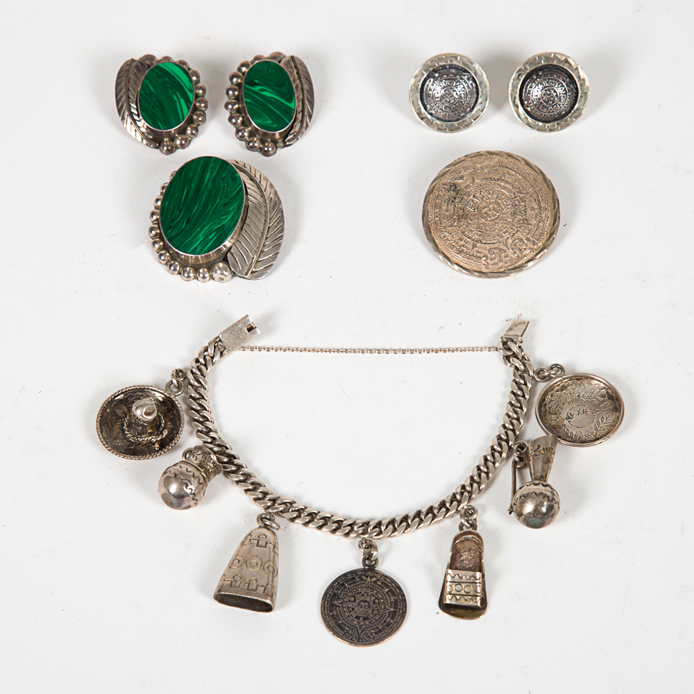 Mexican Sterling Silver Jewelry-