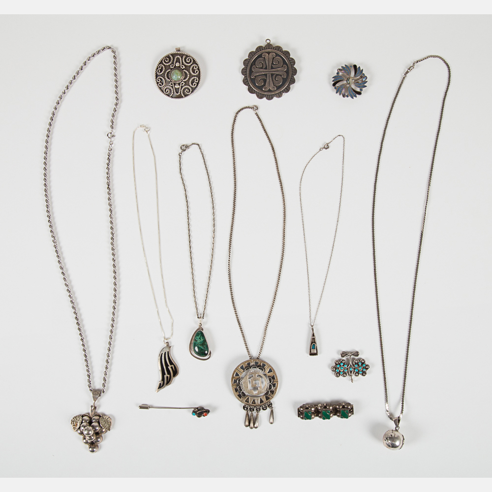 Mexican Silver Jewelry-