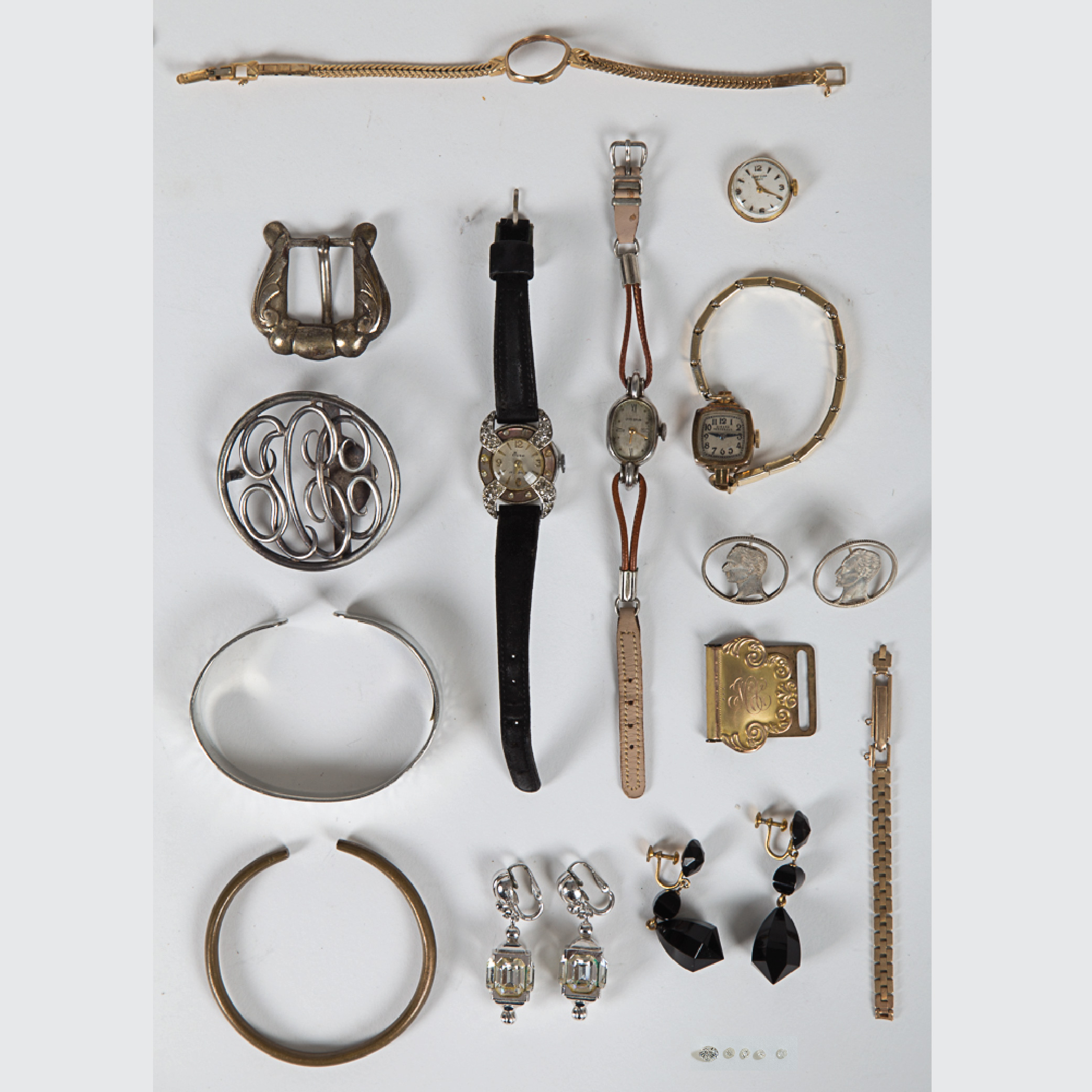 Miscellaneous Collection of Jewelry-