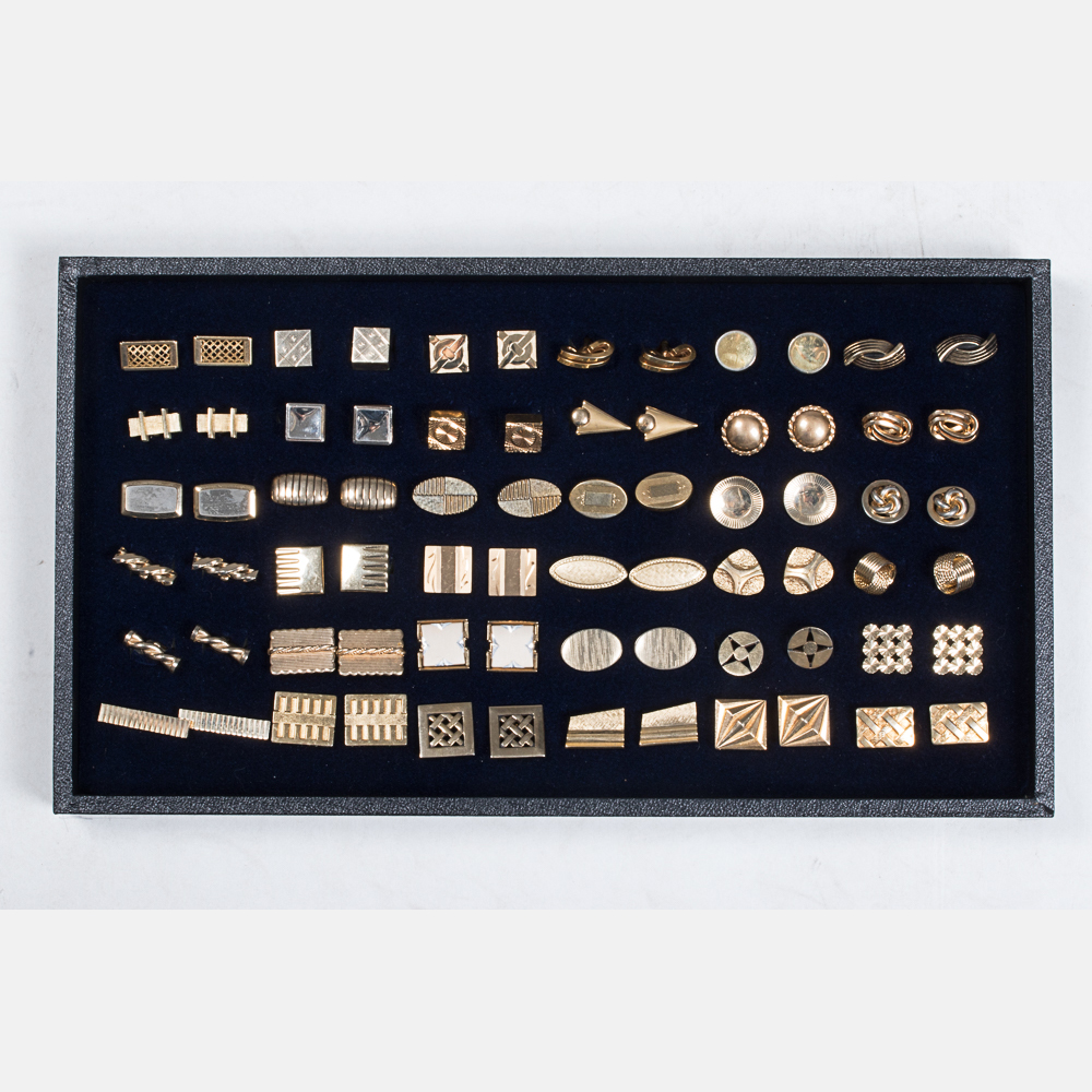 Thirty-Six Pairs of Cufflinks-