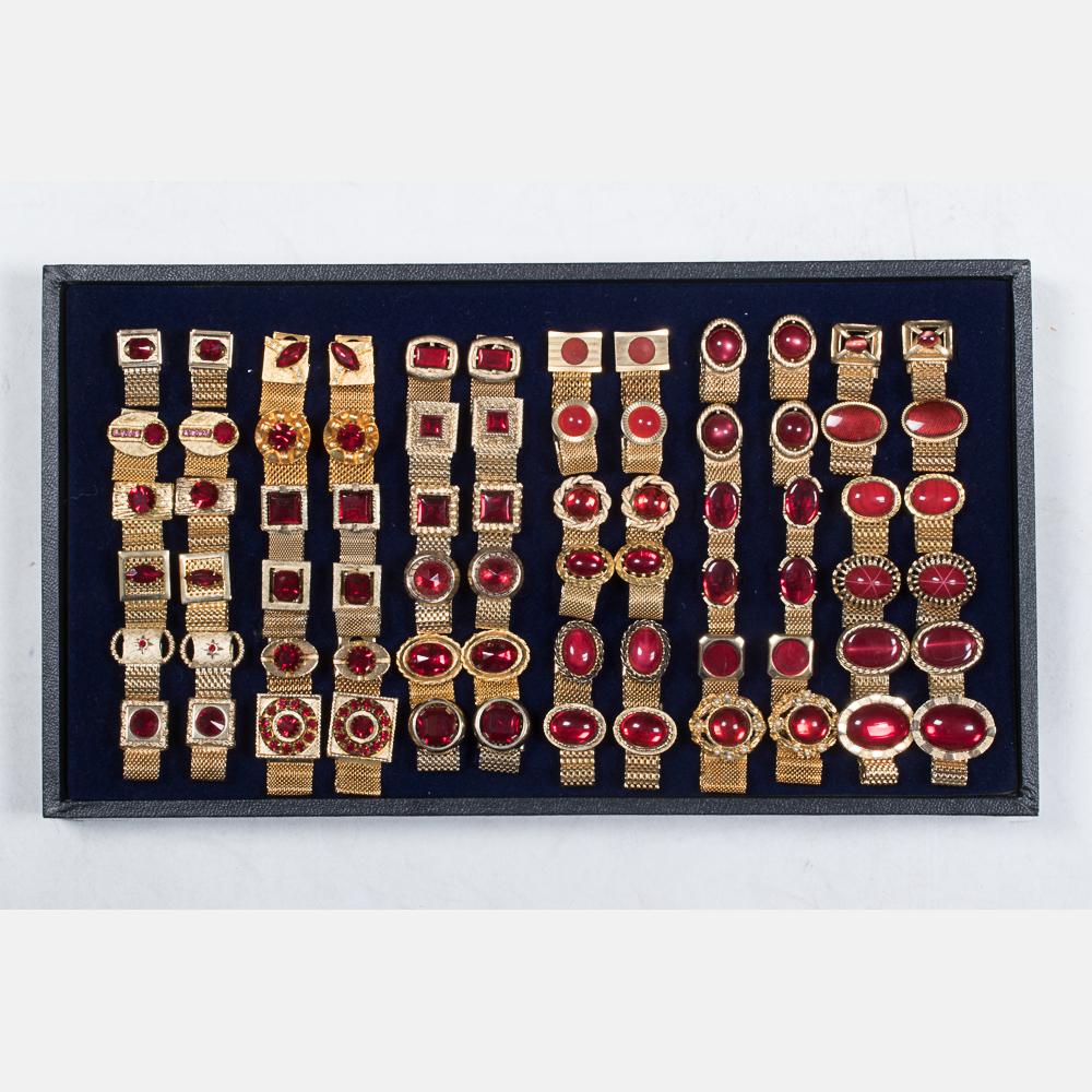Thirty-Six Pairs of Cufflinks-