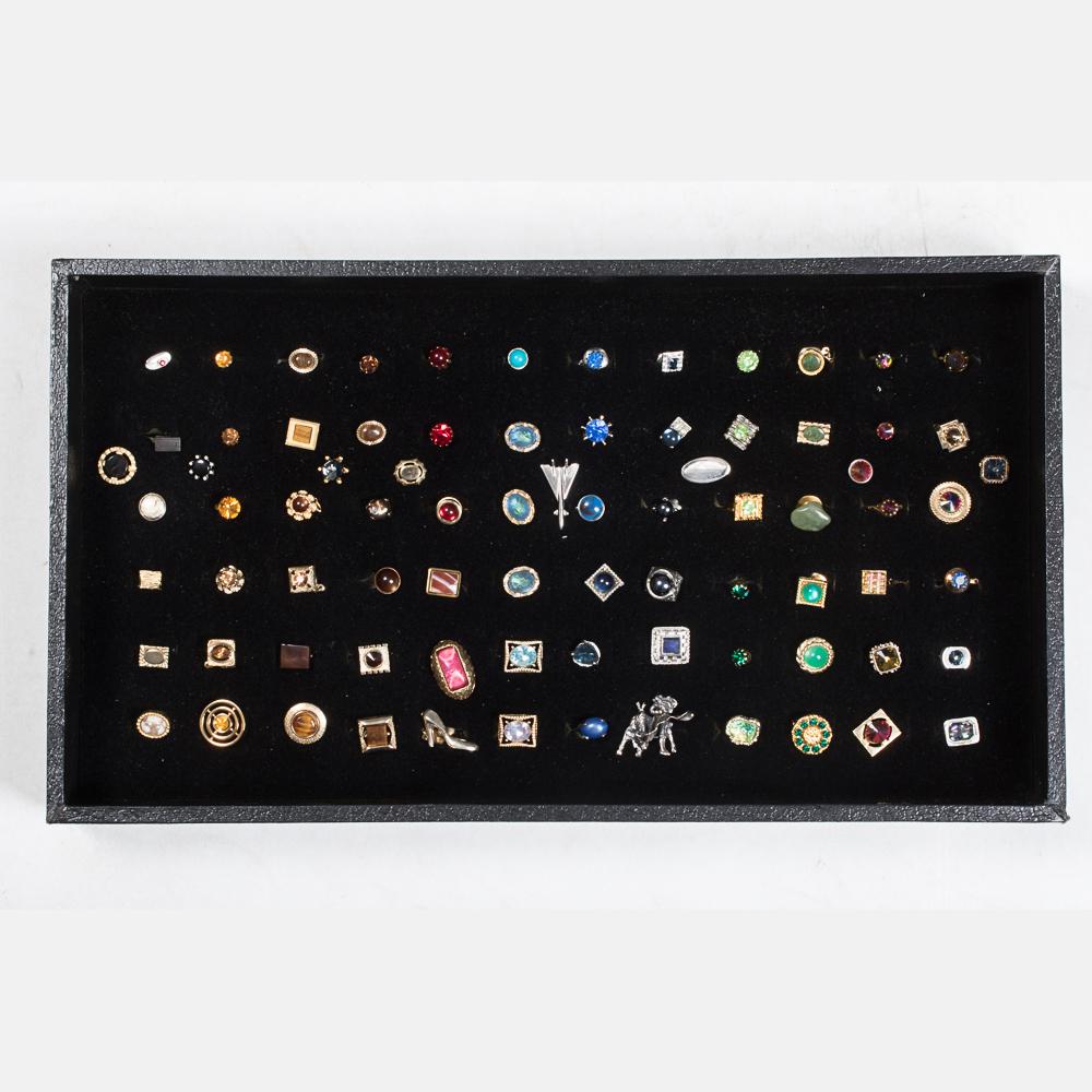 Eighty Tie Pins-