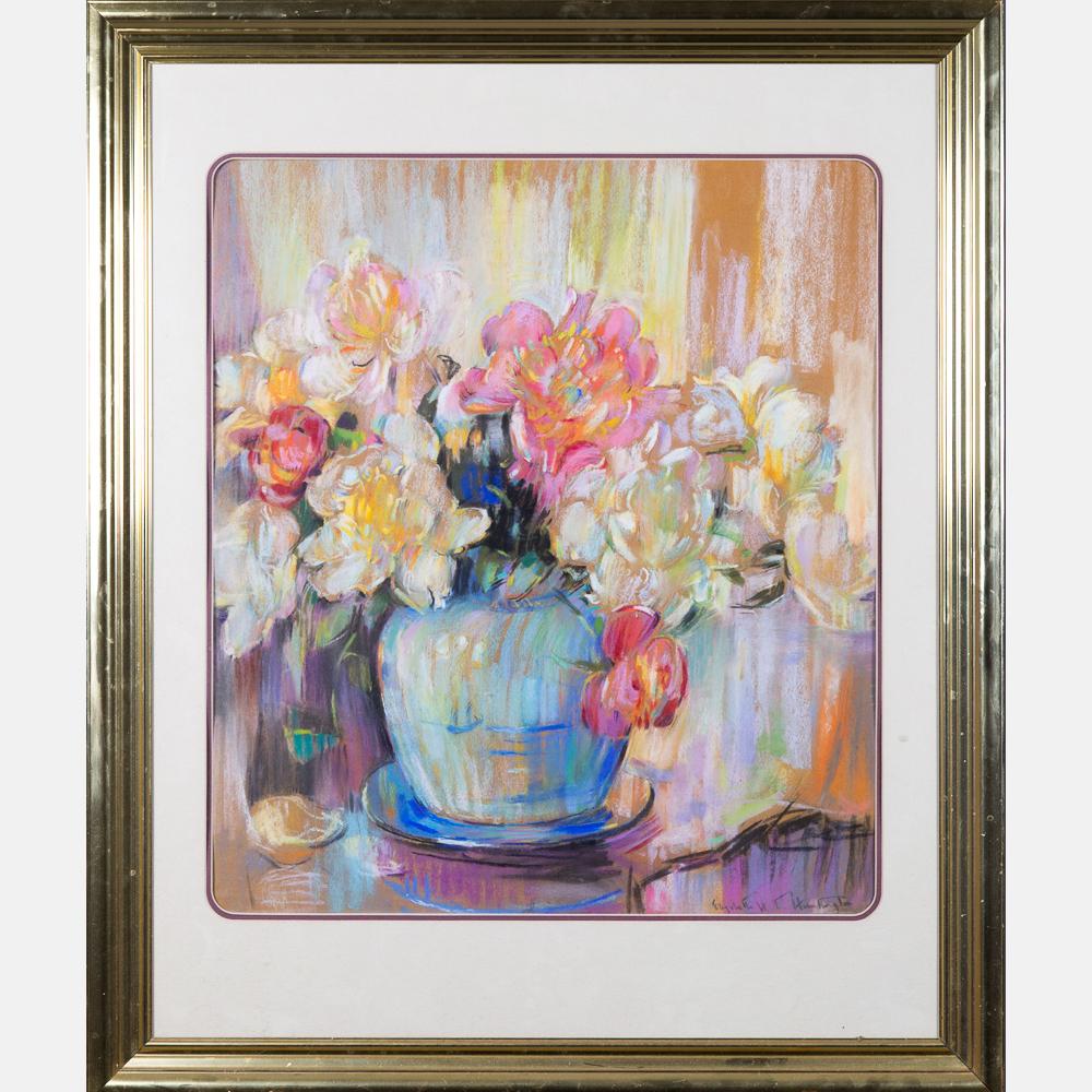 Elizabeth Hamilton Huntington-Still Life Bouquet-