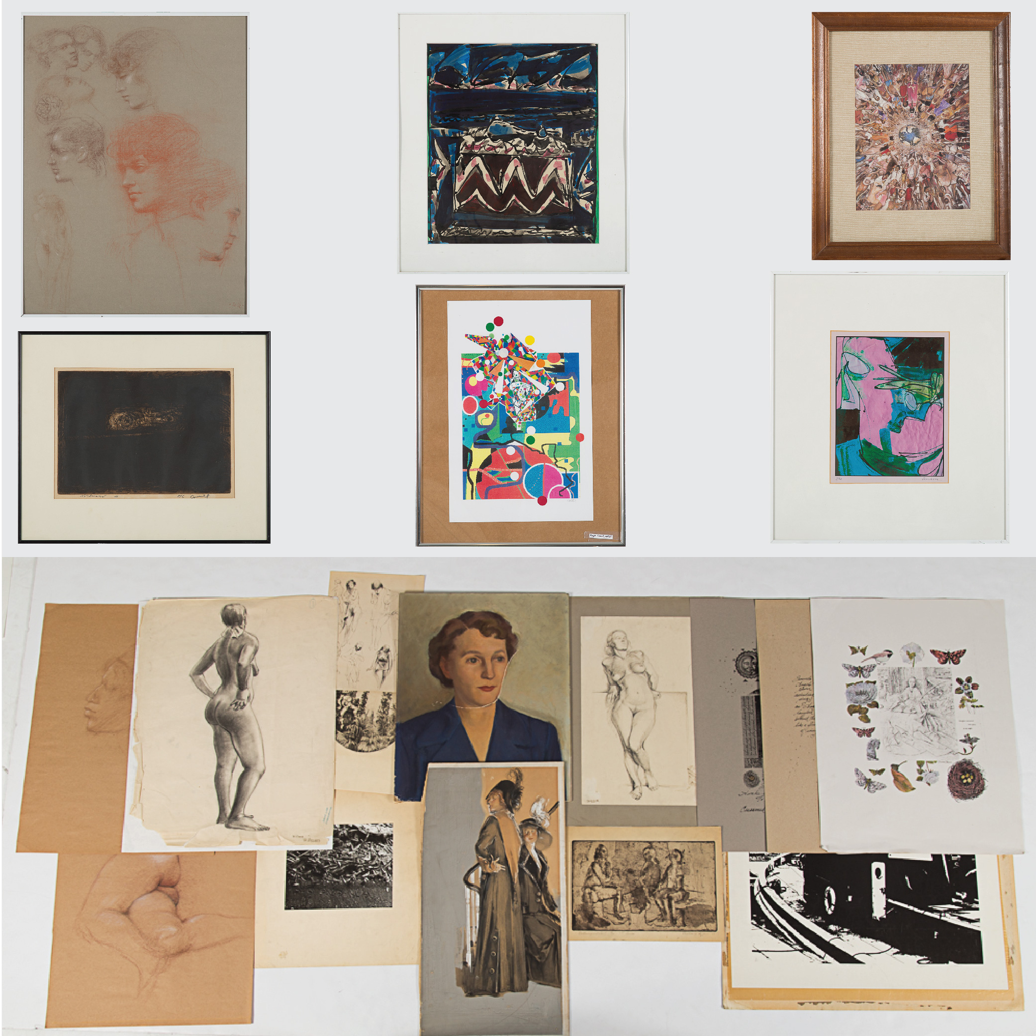 Drawings and Prints-