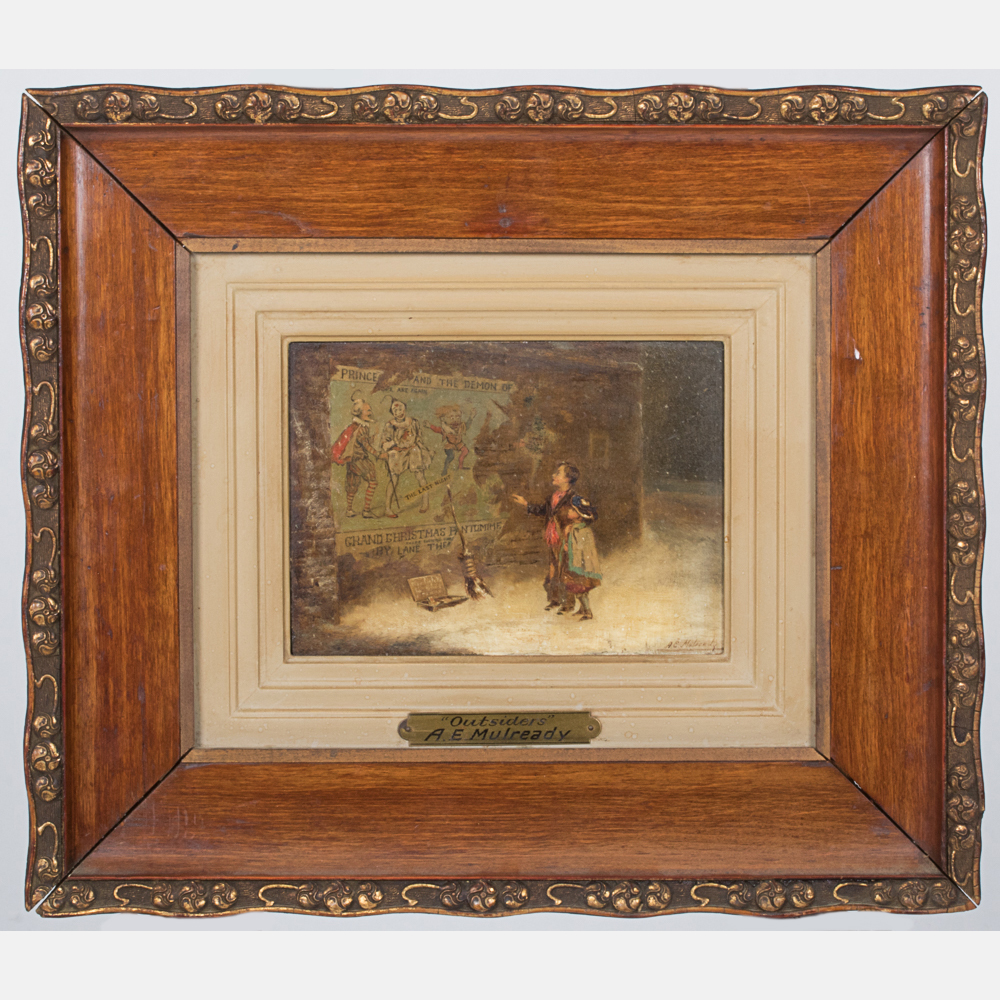 Augustus Edwin Mulready - Outsiders-1918