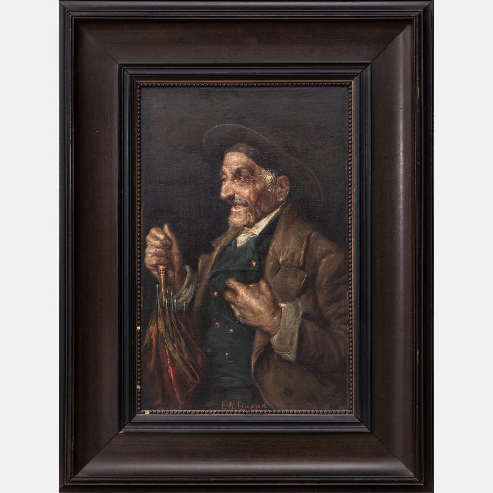 Federico Alessandro Ciappa-Portrait of a Man-
