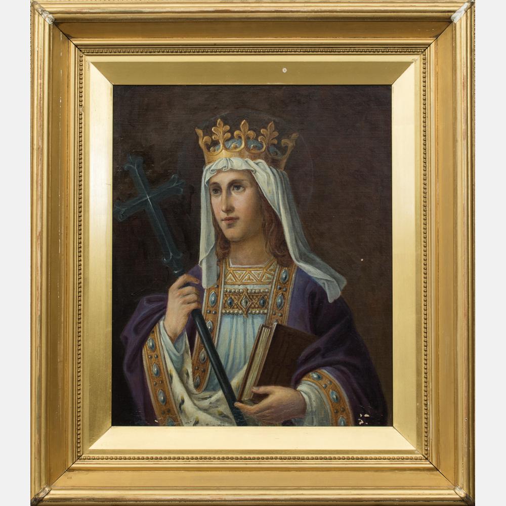Artist Unknown - Portrait of a Saint Margaret of Scotland-