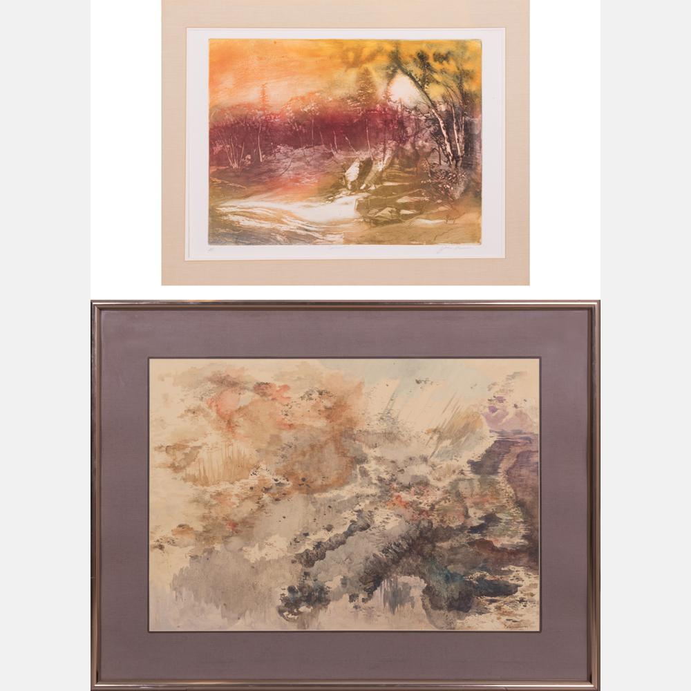 Anthony Vaiksnoras-Untitled; Sunset-1954