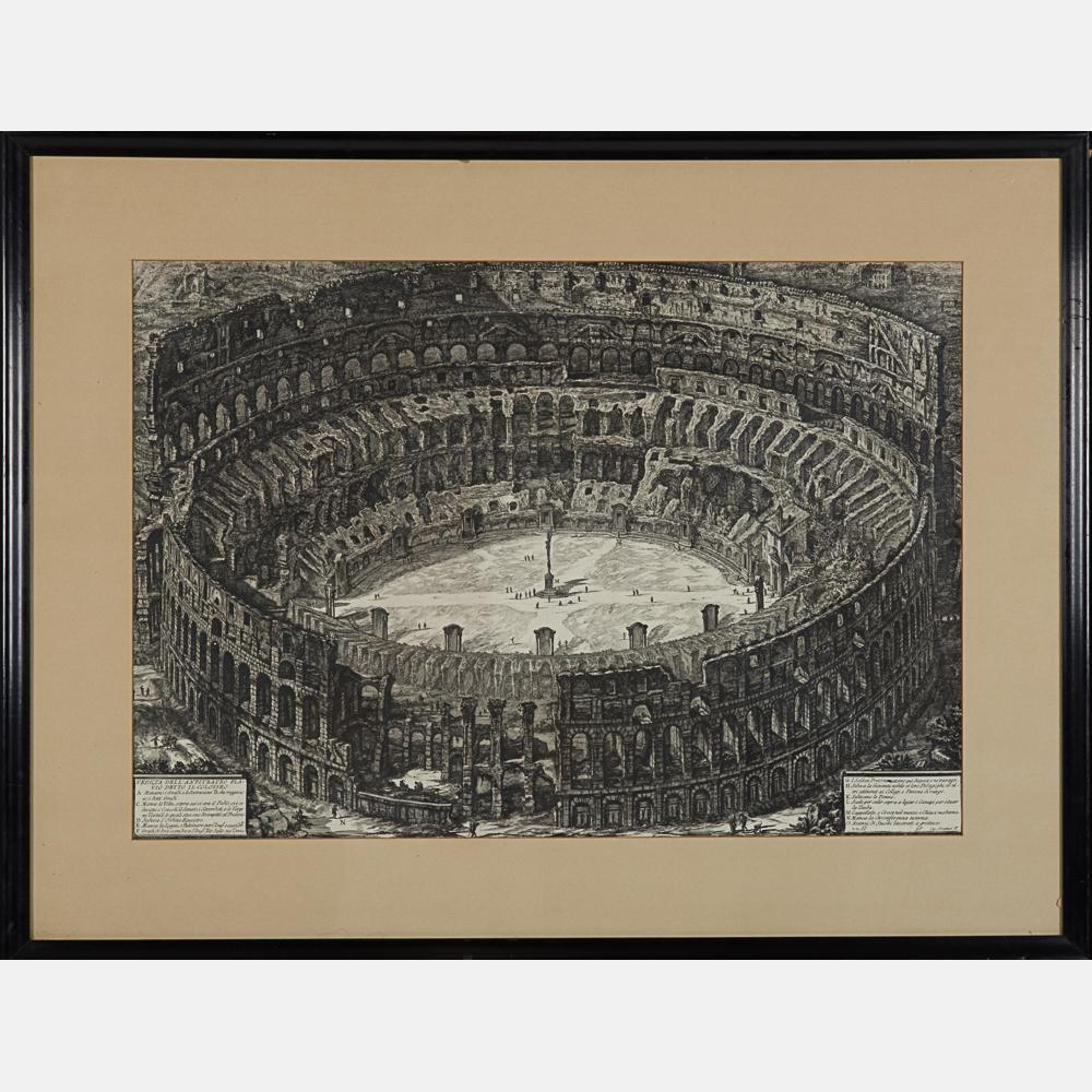 Giovanni Battista Piranesi-Veduta dell'Anfiteatro Flavio Detto IL Colosseo-1776