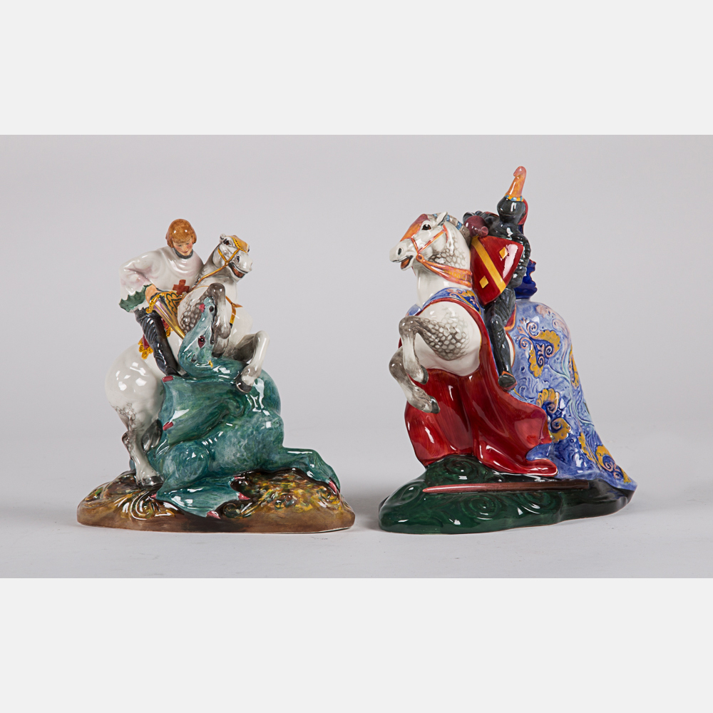 Two Royal Doulton Figurines-