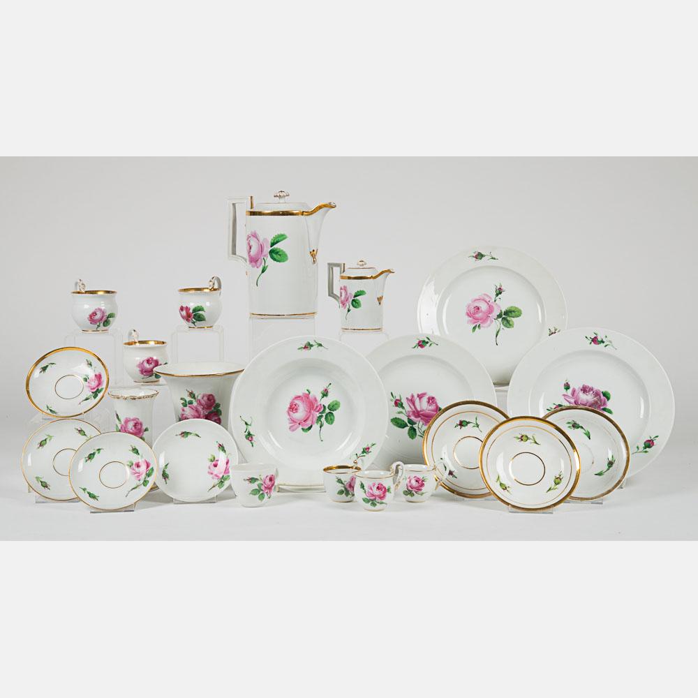 Partial Meissen Porcelain Service-