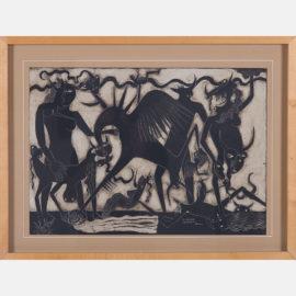 Jaime Makinde-Figural Abstract-1945