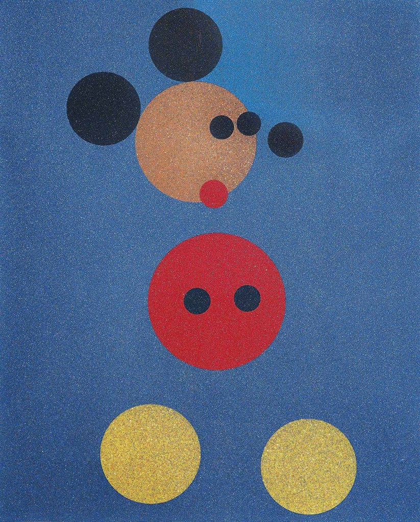 Damien Hirst-Mickey (Large)-2016